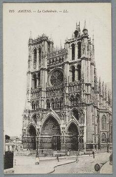 Notre Dame d'Amiens Carte postale ancienne