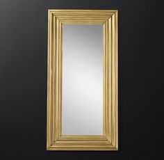 "19th C. Empire Leaner Mirror - 48"" X 96"""