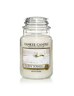 Yankee Candle - Fluffy Towels - best candle ever!