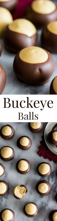 Easy Buckeye Recipe via /sugarspunrun/
