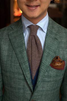 Green Check Jacket - My Jacket
