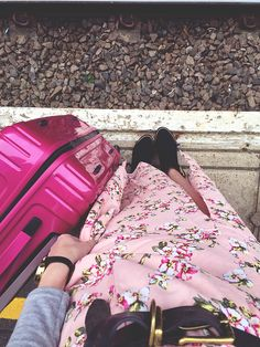 Wonderful You nails the transeasonal look with her 'Vivotec' luggage #TravelBright