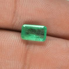 1.52 Cts. Huge Rare Genuine Natural Zambian Green by AceGemstones