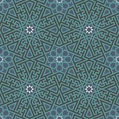 Pattern from Kara Tai Medrese, Konya, Turkey – courtesy of the craftsmanspace website