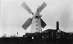 c.1900. stalham smock mill