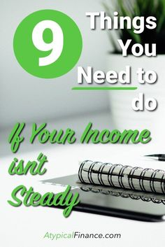 If you have a variable income, YOU NEED to do these 9 things to greatly help out your budget. Ways To Save Money, Money Tips, Money Saving Tips, Making A Budget, Making Extra Cash, Budget Template, Budgeting Tips, Money Management, Personal Finance