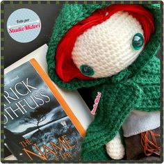 Kvothe. The name of the wind. Patrick Rothfuss. Amigurumi. StudioMidori