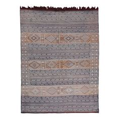 "Berber in Wool Multi 7'04"" x 9'07"" - New Arrivals"