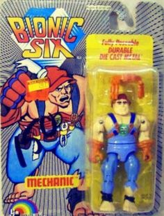 Bionic Six Mechanic Action Figure