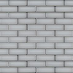 MSI Greecian White Beveled 12 in. x 12 in. x 10 mm Polished Marble Mesh-Mounted Mosaic Tile (1 sq. ft.)-GRE-2X4PB - The Home Depot Mosaic Wall Tiles, Marble Mosaic, Mosaic Glass, Beveled Subway Tile, Beveled Glass, Metal Floor, Thing 1, The Help, Ice