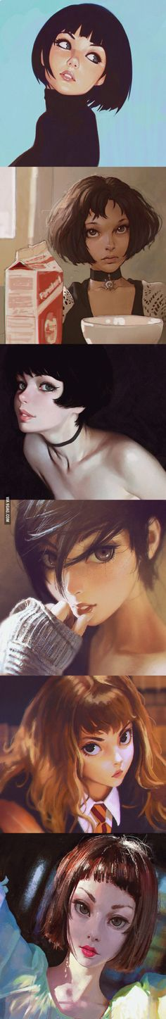 Ilya Kuvshinov's work... Just can't get enough of it