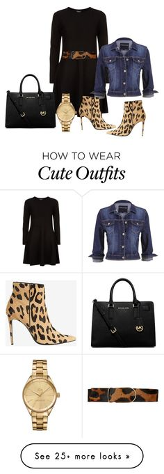 """""""Cute outfit"""" by yochevedb on Polyvore featuring DKNY, Maison Boinet, maurices, Lacoste, Barbara Bui and MICHAEL Michael Kors"""