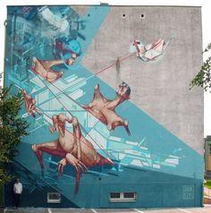 Sepe x Chazme New Mural @ Gorzowa, Poland (2012)