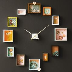 Picture frame clock! Would look good in my room!