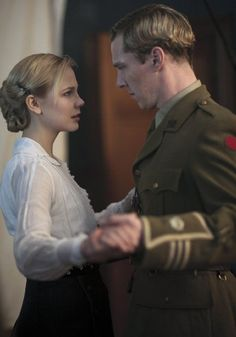 """""""You dance rather well, Mr. Davies."""" Emily and Philip."""