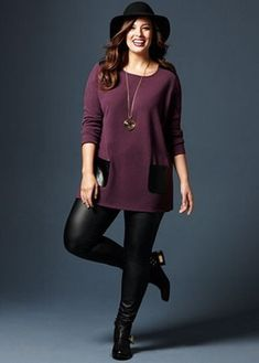 2016 Fall & 2017 Winter Fashion Trends for Curvy and Plus Size Women Plus Size Looks, Look Plus, Curvy Fashion, Trendy Fashion, Womens Fashion, Work Fashion, Fashion Rings, Fashion Fashion, Cheap Fashion