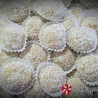 Candy Recipes, Dessert Recipes, Desserts, Greek Pastries, Sweet Cooking, Breakfast Dessert, Truffles, Biscuits, Food And Drink