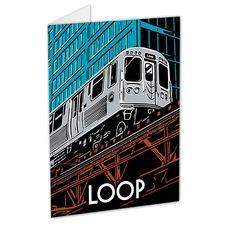 The Loop Neighborhood Greeting Card