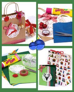 Über selbstgemachte Weihnachtskarten und individuell gestaltete Säckchen freut sich garantiert jeder.