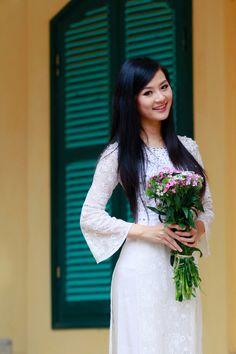 Anh Ao Dai Viet Nam | Beautiful girls in Ao Dai Gallery | Áo Dài