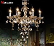Free Shipping K9 Crystal Chandelier Luxury crystal lamp bedroom dining room living room Lighting crystal fashion crystal lamp(China (Mainland))