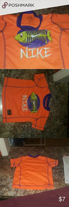 3t boy bright orange nike shirt Very good used condition. Maybe worn one to two times. Smoke and pet free home. nike Shirts & Tops Tees - Short Sleeve