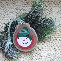 Hand Stamped Wreath Gift Tags stuff Ive made Pinterest Hand