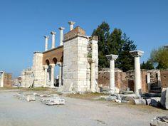 Basílica de San Juan Evangelista de Éfeso, s. VI. Éfeso.  Panoramio - Photo of SELÇUK-ÉFESO (Provincia de İzmir-Egeo). Turquía. 2012. 137. Basílica de San Juan (sVI).