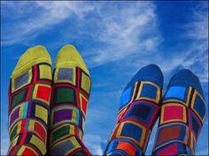 Dore Dore 1819 - www.dore-dore.fr - Découvrez la nouvelle collection de chaussettes DD pour les hommes - Collection Printemps/Eté 2013 - Chaussettes colorées en coton doux. Collection: One Two Six - Squares2.