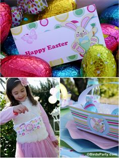Party Printables | Party Ideas | Party Planning | Party Crafts | Party Recipes | BLOG Bird's Party: Kid's Easter Egg Hunt Party + our NEW Easter Printable Collection