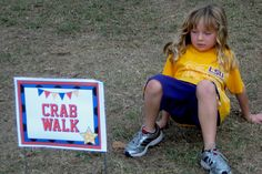 Relay Obstacle Course Idea