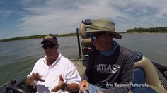 Dock shooting for bass with Gene Larew new dock shooting products