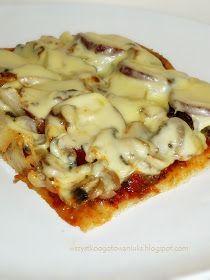 pizza, przepis na ciasto do pizzy