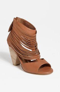 I am so loving this fringe sandal