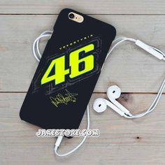 Valentino Rossi VR46 Forty Six MotoGP iPhone Case 4 4s 5 5s 5c 6 6s Plus Hardcase