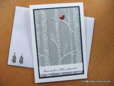 Maureen Rootes - mo@crafty-rootes.co.uk - Stampin Up Woodland Embossing folder