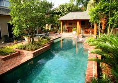 Pool And Spa Modern New Orleans Ferris Land Design Richard