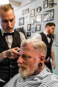 Amsterdam Barber Shop - Haarbarbaar - Tim Collins Photography - I want to go there so badly!!!