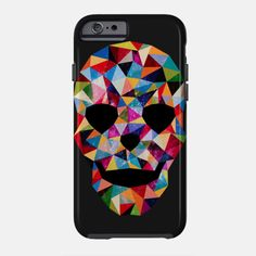 Head Space iPhone case by Fimbis available from Teepublic #skull #skulls #colorful #iphone6 #iphone6s