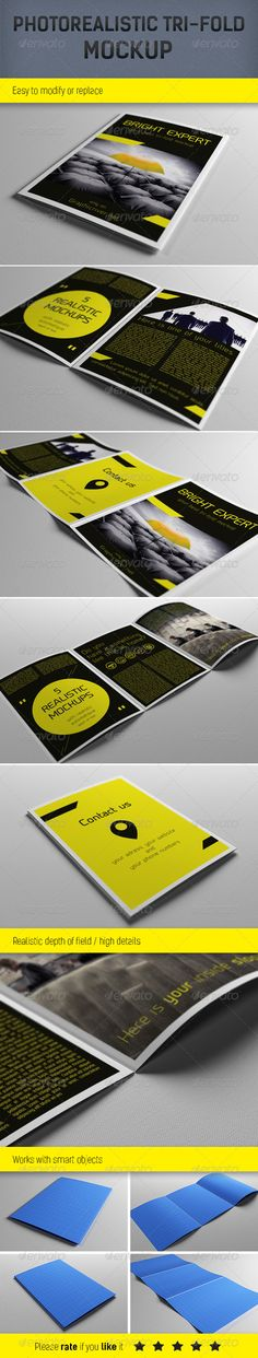 Realistic A5 Brochure Mockup Template Download here: https://graphicriver.net/item/realistic-a5-brochure-mockup-template/3995902?ref=KlitVogli