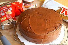 Gâteau d'anniversaire au chocolat facile · Aux delices du palais