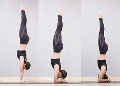 The core can be hard to grasp or tangibly activate but it's essential for inversions. Practice these 12 core exercises to transform your inversion practice. Yoga Inversions, Yoga Handstand, Yoga Sequences, Yoga Poses, Handstand Training, Handstands, Best Resistance Bands, Resistance Band Exercises, Core Exercises
