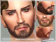 Sims 4 CC's - The Best: Beard by Serpentrogue