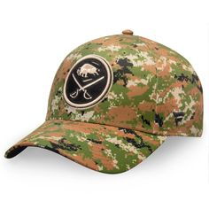 finest selection eff21 f34df Men s Buffalo Sabres Fanatics Branded Camo Authentic Pro Military  Appreciation Alpha Adjustable Hat, Your Price