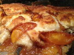 Ridiculously Delicious Peach Cobbler - Life Where We Are