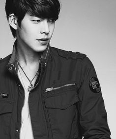 Oooh he's hot!! :D I think he's a south Korean actor his name is kim woobin