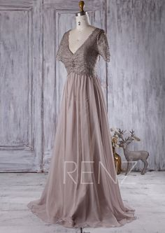 16b7c684b9e 2016 Dusty Rose Lace Bridesmaid Dress with Short by RenzRags Rose Lace