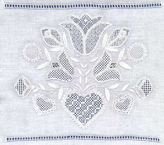 nice example of traditional Schwalm embroidery