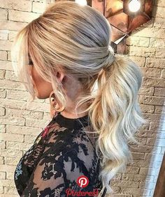 Irresistible high pony long prom hairstyles 2019 to look perfect - prom . - Irresistible high pony long prom hairstyles 2019 to look perfect – prom hairstyles - Summer Wedding Hairstyles, Homecoming Hairstyles, Trendy Hairstyles, Amazing Hairstyles, Hair Wedding, Going Out Hairstyles, Fast Hairstyles, Hairstyles For Christmas Party, Simple Party Hairstyles