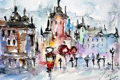 Color city Lviv
